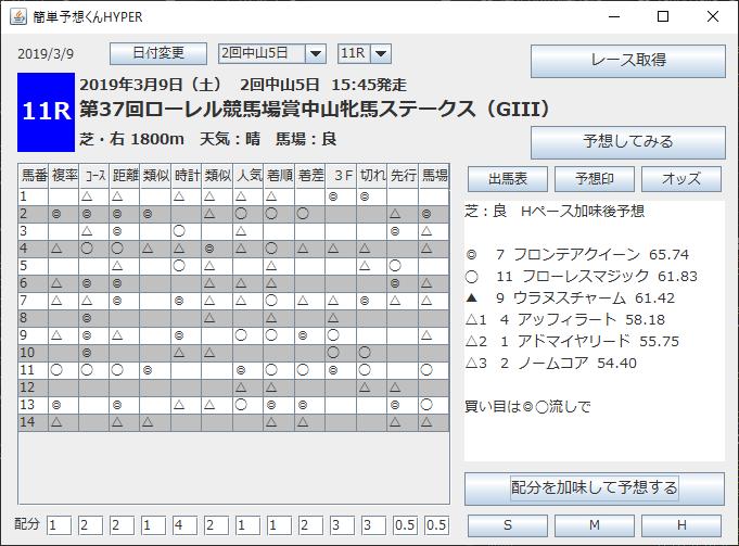 従来型PC版実行画面